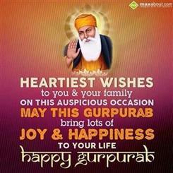 Gurpurab Wishes In Punjabi