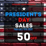 Presidents Day Weekend 2020