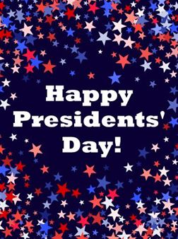 Happy President's Day 2020