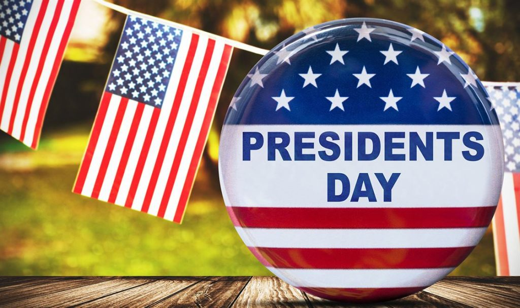 president's day button