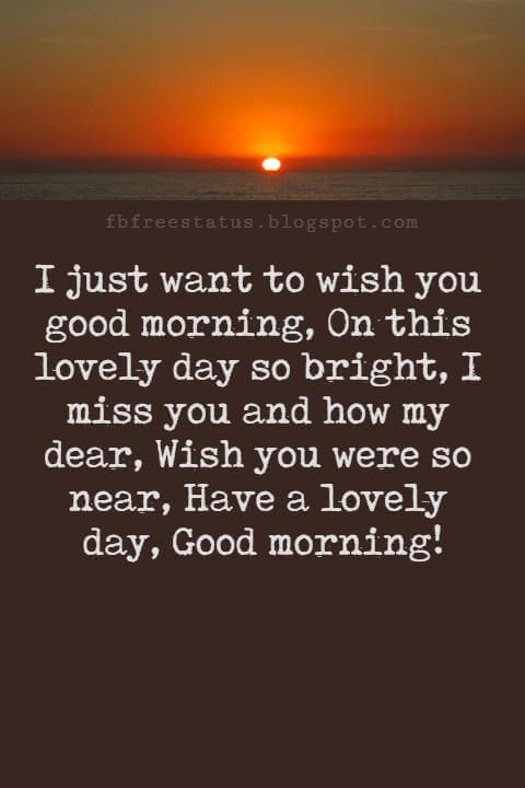 A Good Morning Message For Boyfriend